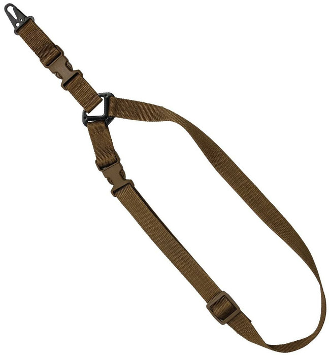 """Red Rock Outdoor Gear S1: Single-Point 1.25"""" Tactical Sling Coyote"""