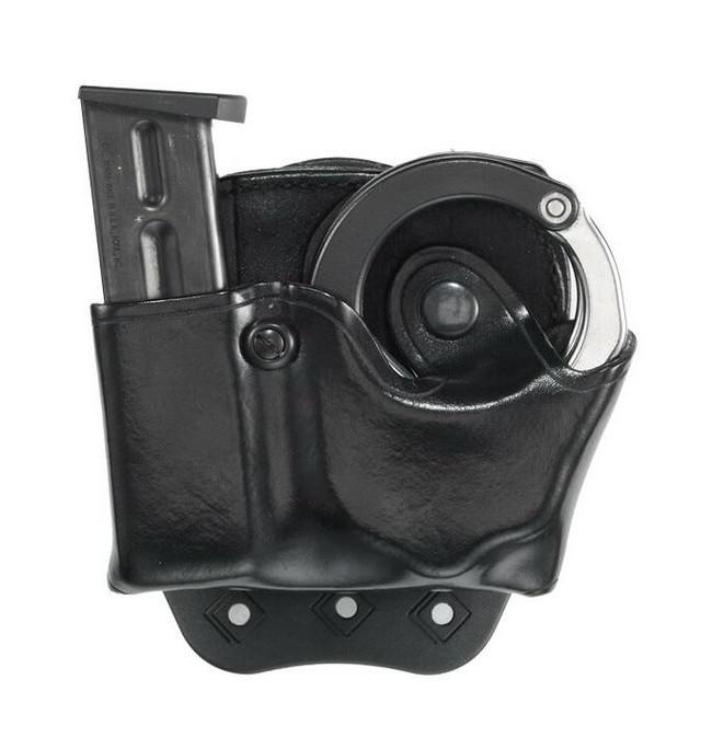 Aker Model 519A D.M.S. ASP Cuff & Mag Combo Pouch black plain