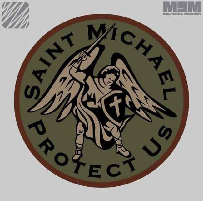 Mil-Spec Monkey Saint Michael Patch SAINT-PA