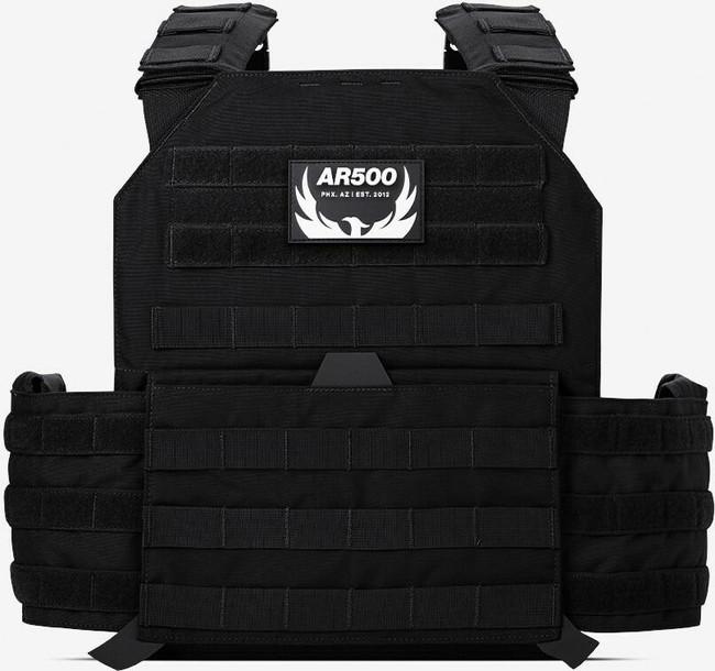 AR500 Armor Testudo Lite Plate Carrier - Black