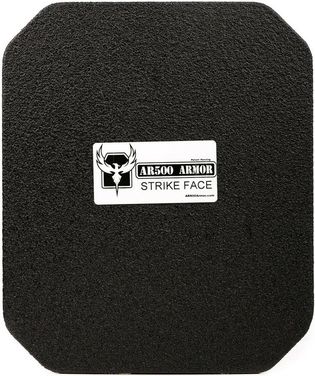 "AR500 Level III+ 10"" x 12"" Square Back Plate"