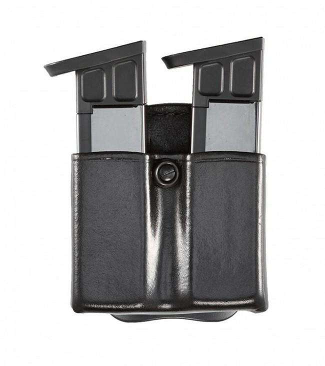 Aker Model 523 D.M.S. Twin Dual Mag Pouch black plain