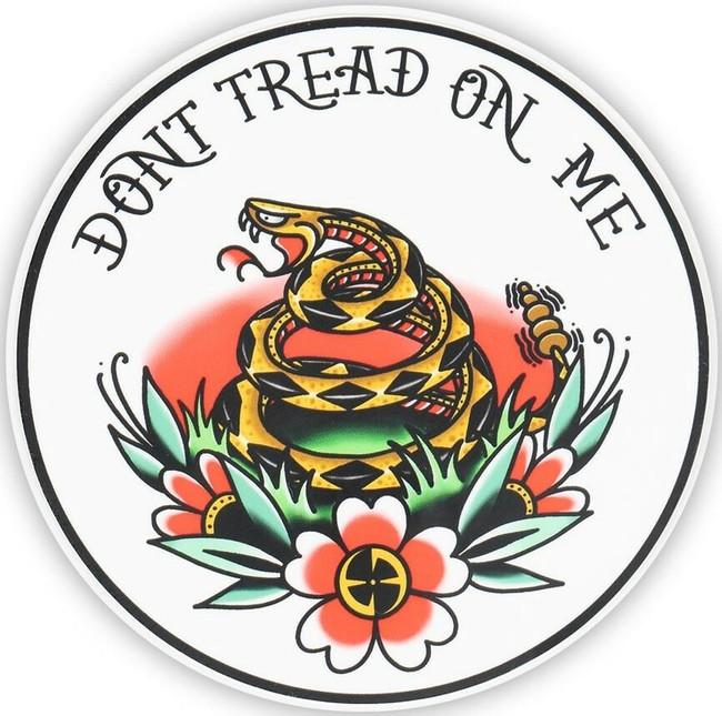 "LA Police Gear 4"" x 4"" DTOM Tattoo Sticker"