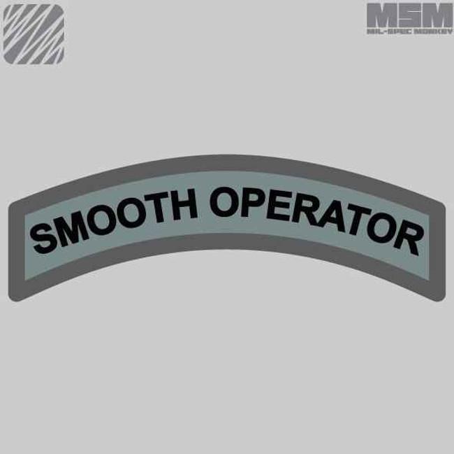 Mil-Spec Monkey Smooth Operator Patch SMOOTHOPERATOR