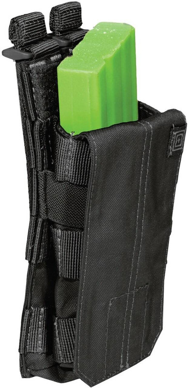 5.11 Tactical Bungee/Cover Single AR Magazine Pouch - Black