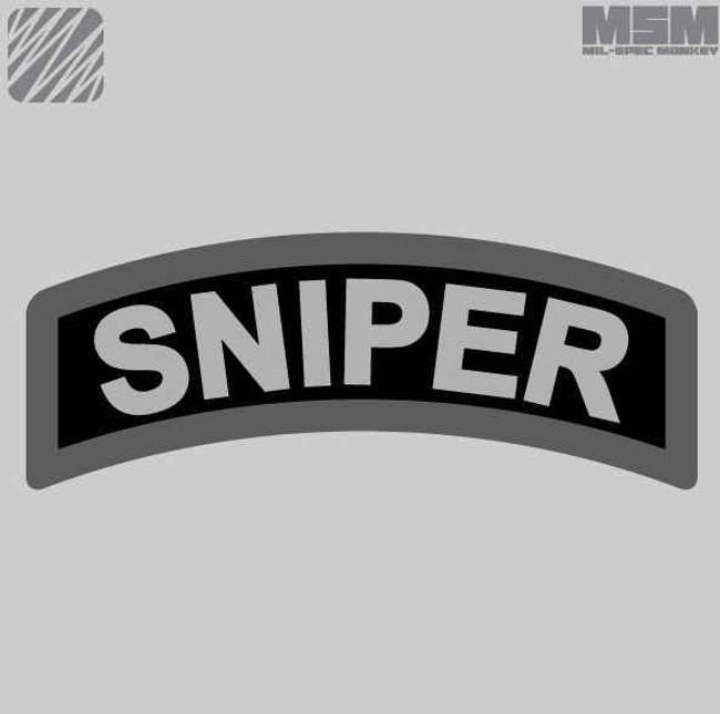 Mil-Spec Monkey Sniper Tab Patch SNIPERTAB