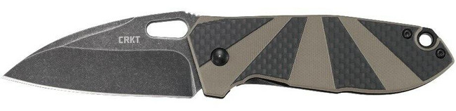 Columbia River Knife and Tool Heron Folding Knife left side profile