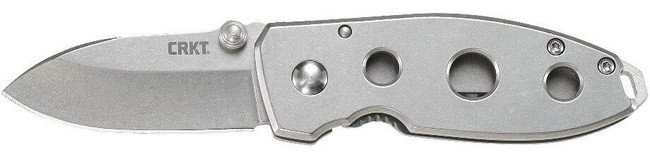 Columbia River Knife and Tool Squid Stainless Steel Folding Knife left side profile