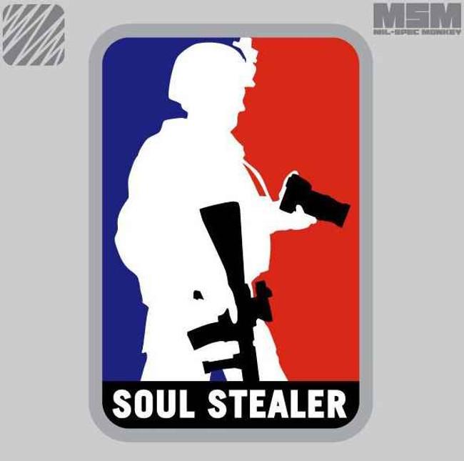 Mil-Spec Monkey Soul Stealer Patch SOUL-STEALER