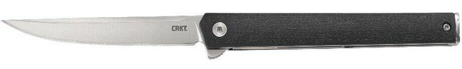 Columbia River Knife and Tool CEO Flipper Folding Knife left side profile