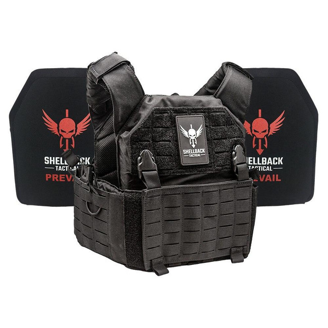 Shellback Tactical Rampage 2.0 Active Shooter Kit with Level IV 1155 Plates - SBT-9031-1155 - Black - Only 409.99 - |LA Police Gear|