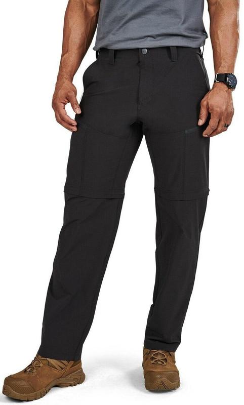 5.11 Tactical Men's Decoy Convertible Pant - Black
