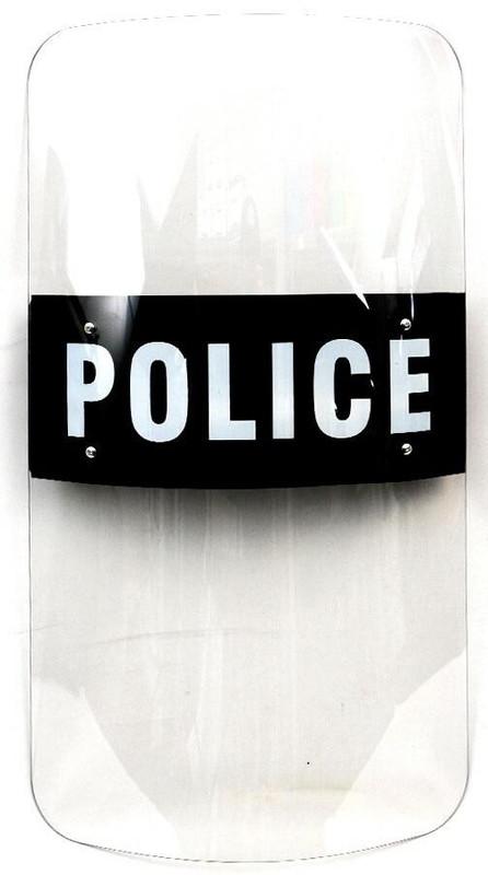 LA Police Gear AS-001 Anti Riot Shield - Front