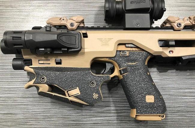Handleitgrips CAA Micro Roni Gen 1 Textured Rubber Grip - HIG-CAARONI1-TR - Only 15.99 - Gun and Grip -  LA Police Gear 