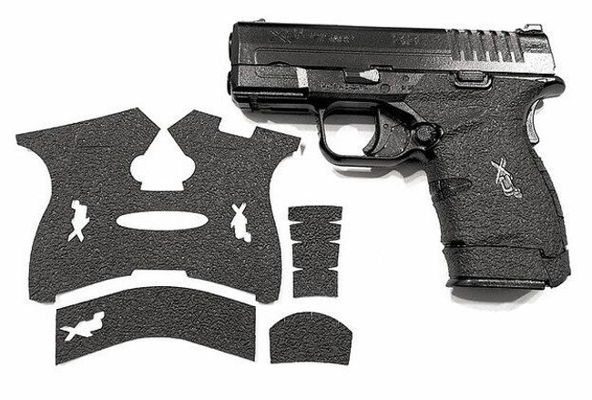 Handleitgrips Springfield Armory XDS 9/45 Textured Rubber Grip - HIG-SAXDS945-TR - Gun and Grip - Only 12.99 -  LA Police Gear 