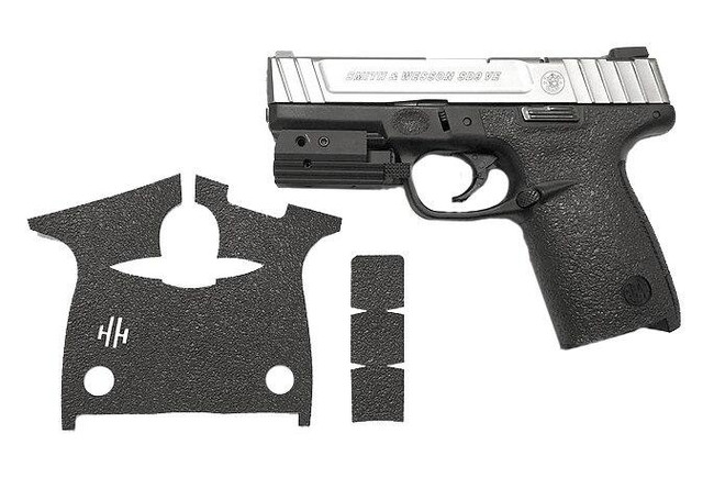 Handleitgrips Smith & Wesson SD9 VE, SD40 Textured Rubber Grip - HIG-SWSD9VESD40-TR - Gun and Grip - Only 12.99 - |LA Police Gear|