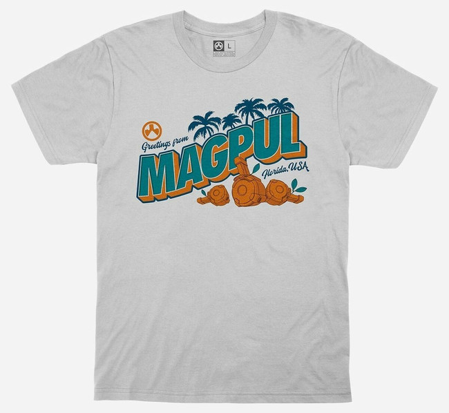 Magpul Men's Fresh Squeezed Freedom T-Shirt white