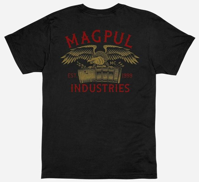 Magpul Men's Magazine Club T-Shirt black back