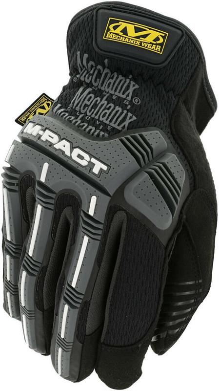 Mechanix Wear M-Pact Open Cuff Black/Grey Glove
