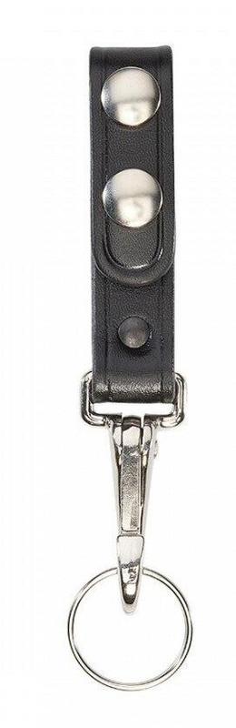 Aker Model 561 Single Key Ring Strap plain chrome