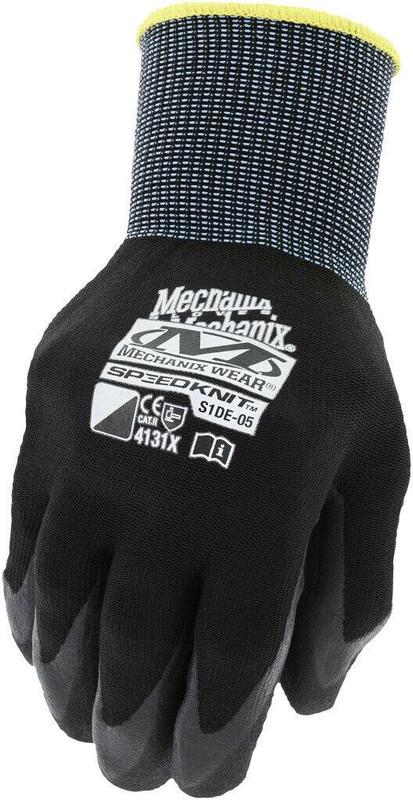 Mechanix Wear SpeedKnit Utility Black Glove