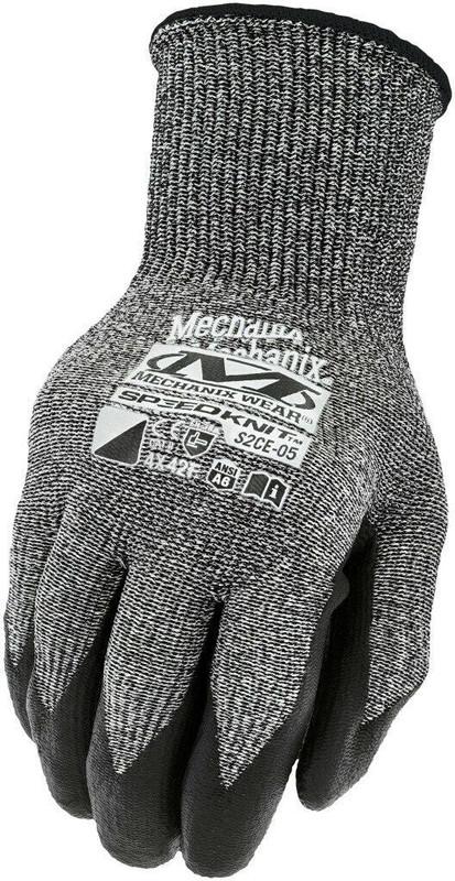 Mechanix Wear SpeedKnit F6 Black Glove
