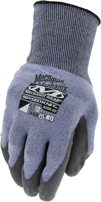 Mechanix Wear SpeedKnit B2 Light Blue Glove