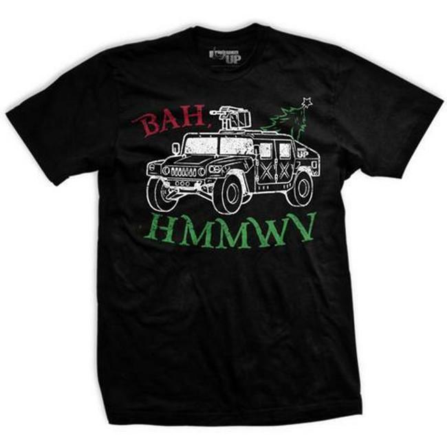Ranger Up Men's Bah HMMWV T-Shirt - RU1953 - Main - Only 20.99 - |LA Police Gear|