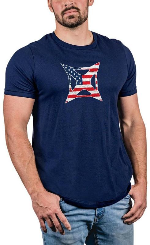 Vertx Men's Patriot Logo Graphic T-Shirt