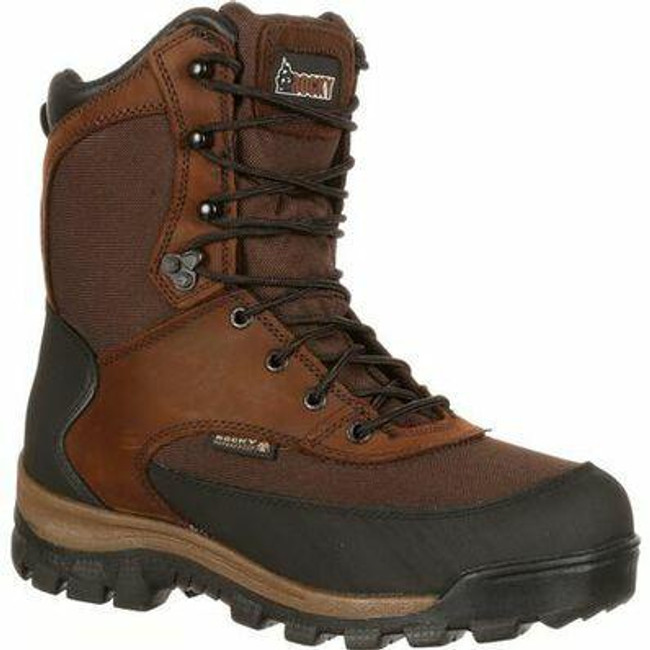 """Rocky Core Men's 8"""" Waterproof 800G Insulated Outdoor Boot 4753 - FQ0004753 - Main - Only $95 - 