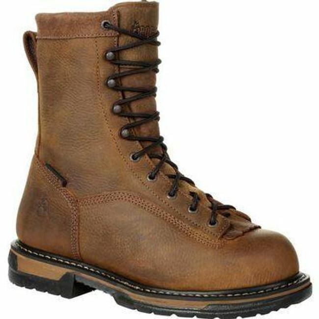 "Rocky Ironclad Men's 8"" Waterproof Work Boot 5698 - FQ0005698 - Main - Only $155 -  LA Police Gear "