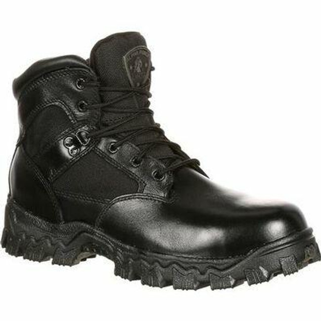 "Rocky Alpha Force Men's 6"" Composite Toe Waterproof Public Service Boot 6167 - FQ0006167 - Main - Only $87 -  LA Police Gear "