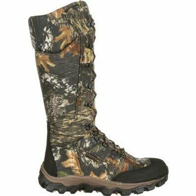 """Rocky Lynx Men's 16"""" Waterproof Side Zip Snake Boot 7379 - FQ0007379 - Main - Only $145 -  LA Police Gear """