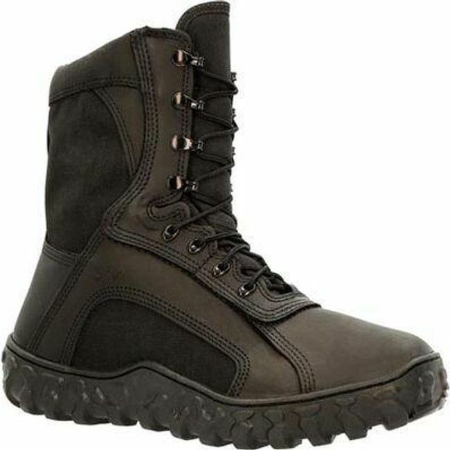 """Rocky Black S2V Men's 8"""" 400G Insulated Tactical Military Boot RKC078 - RKC078 - Main - Only $310 - 