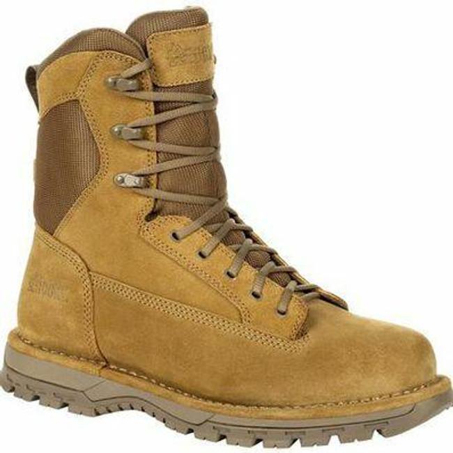 "Rocky Portland Men's 8"" Coyote Brown Public Service Boot RKD0069 - Main - Only $166 -  LA Police Gear "
