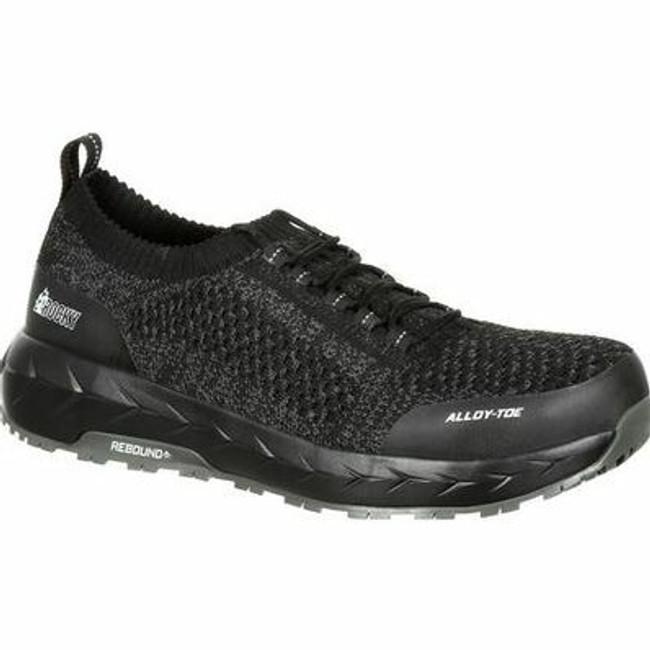 """Rocky Work Knit LX Men's 3"""" Alloy Toe Athletic Work Shoe RKK0248  - Main - Only $100 -  LA Police Gear """