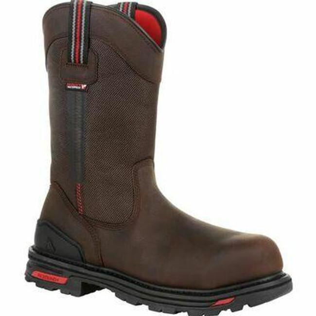 """Rocky RXT Men's 11"""" Composite Toe Waterproof Pull-On Work Boot RKK0292 - Main - Only $155 -  LA Police Gear """