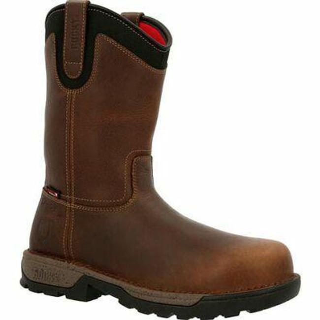 """Rocky Legacy 32 Men's 11"""" Composite Toe Waterproof Work Boot RKK0332 - Main - Only $190 -  LA Police Gear """