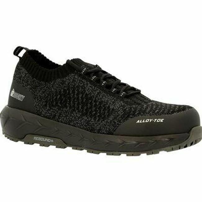 """Rocky Women's 3"""" Workknit LX Alloy Toe Athletic Work Shoe RKK0334 - Main - Only $95 -  LA Police Gear """
