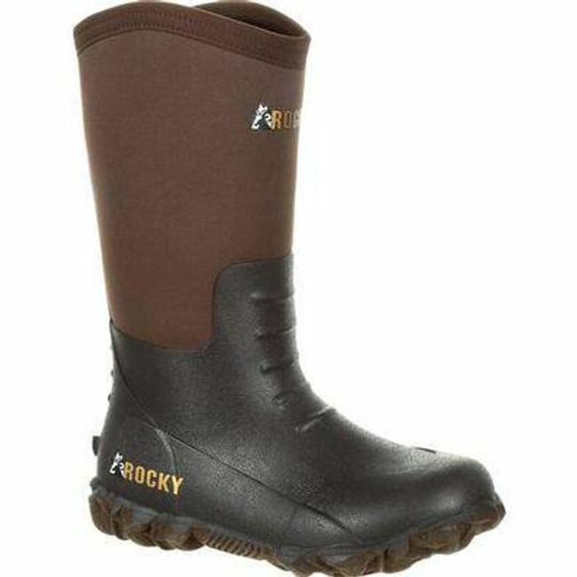 "Rocky Big Kids' Core 10"" Rubber Outdoor Boot RKS0376Y - Main - Only $62 - LA Police Gear"