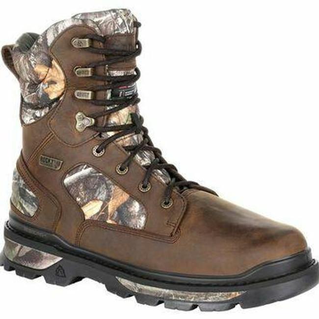 "Rocky Rams Horn Men's 8"" 800G Insulated Waterproof Outdoor Boot RKS0414 - Main - Only $130 - LA Police Gear"