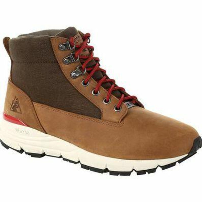 """Rocky Rugged AT Men's Brown 5""""Waterproof Outdoor Boot RKS0425 - Main - Only $99 - La Police Gear"""