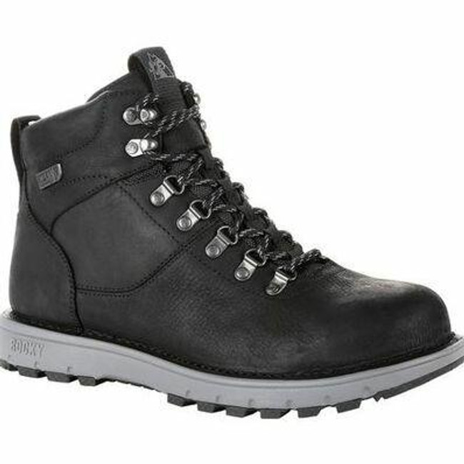 """Rocky Legacy 32 Men's Black 6"""" Waterproof Hiking Boot RKS0432 - Main - Only $103 - LA Police Gear"""