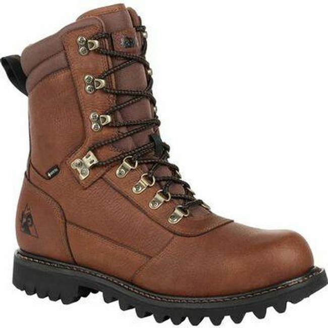 "Rocky Ranger Men's Brown 8"" Waterproof Outdoor Boot RKS0437  - Main - Only $103 - LA Police Gear"