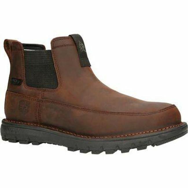 """Rocky Legacy 32 Men's 6"""" Waterproof Chelsea Hiking Boot RKS0472 - Main - Only $135 - LA Police Gear"""