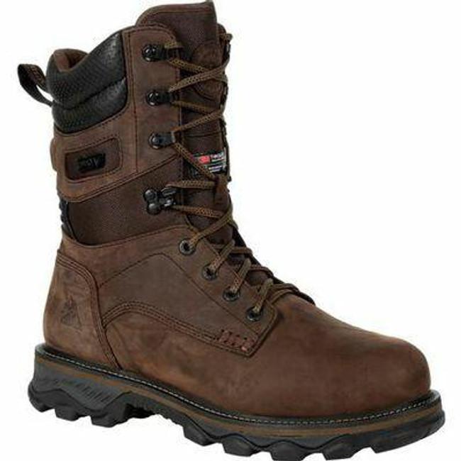 """Rocky Mountain Stalker Men's 6"""" Waterproof 400G Insulated Outdoor Boot RKS0473 - Main - Only $200 - LA Police Gear"""