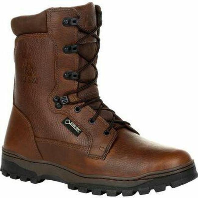 """Rocky Outback Men's 8"""" Plain Toe GORE-TEX Waterproof Outdoor Boot RKS0476 - Main  - Only $125 - LA Police Gear"""