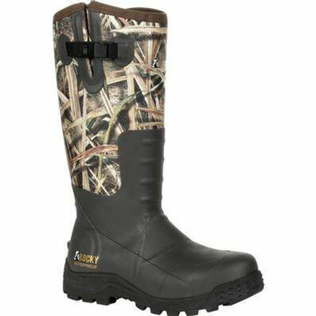 "Rocky Sport Pro Men's 16"" Pull-On Rubber Snake Boot RKS0478 - Main - Only $160 - LA Police Gear"