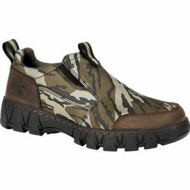 """Rocky Oak Creek Men's 3"""" Camo Slip On Shoe RKS0485 - Main - Only $85 - LA Police Gear"""