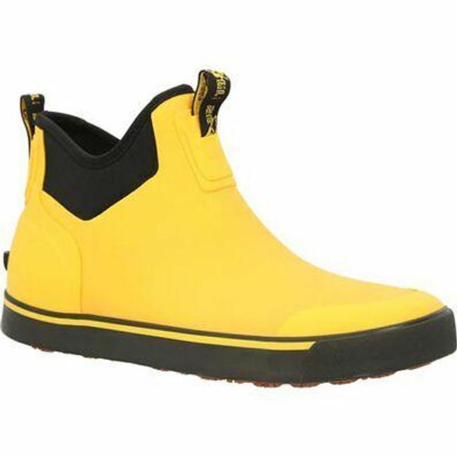 """Rocky Dry-Strike Men's 7"""" Waterproof Yellow Outdoor Boot RKS0520 - Main - Only $69 - LA Police Gear"""